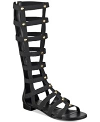 Marc Fisher Lexxi Tall Gladiator Sandals Women's Shoes Black