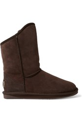 Australia Luxe Collective Cosy Shearling Boots Brown