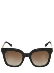 Italia Independent Oversized Rounded Acetate Sunglasses