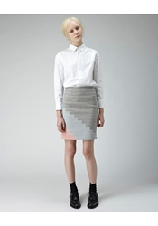Boy By Band Of Outsiders Suspender Skirt Multi