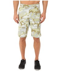 Tasc Performance Switchback Quick Dry Shorts Print Muted Camo Men's Shorts Green