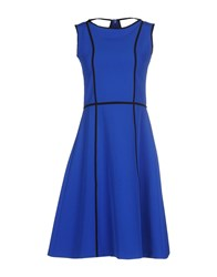 Fisico Cristina Ferrari Dresses Knee Length Dresses Women Blue