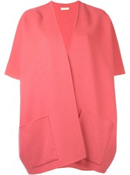 P.A.R.O.S.H. Short Sleeve Coat Pink And Purple