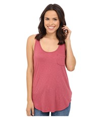 Lamade Boyfriend Tank W Pocket Sienna Rose Women's Sleeveless Pink