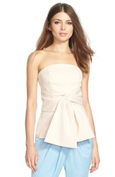 C Meo Collective C Meo 'Little Love' Strapless Top Pink