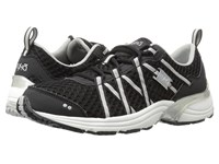 Ryka Hydro Sport Black Silver Women's Cross Training Shoes