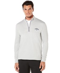 Callaway Big And Tall Men's Golf Performance Quarter Zip Pullover High Rise