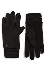 Men's Spyder 'T Hot Conduct' Tech Liner Gloves