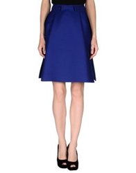 Balenciaga Knee Length Skirts Blue