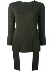 Etro Front Straps Pullover Green
