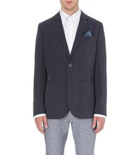 Ted Baker Onetwos Linen Twill Jacket Navy
