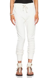 Pam And Gela Betsee Sweatpants In White