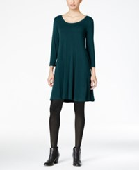 Styleandco. Style Co. Petite Swing Dress Only At Macy's New Rustic Teal