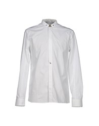 Eleven Paris Shirts Shirts Men White