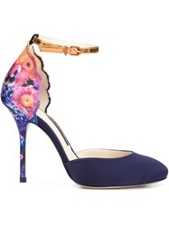 Sophia Webster Flower Heel Pumps Multicolour