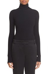 Elizabeth And James Women's Cutout Back Ribbed Turtleneck