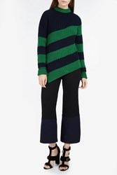 Marco De Vincenzo Striped Chunky Knit Sweater 68L