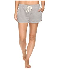Lucky Brand Luxe Chillin Out Shorts Grey Women's Pajama Gray