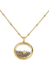 Kate Spade Women's New York 'Reach For The Stars' Pendant Necklace Dark Abalone Multi