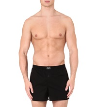 Ralph Lauren Stretch Cotton Logo Boxers Black