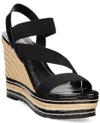 Charles By Charles David Time Espadrille Platform Wedge Sandals