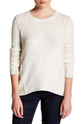 Atm Anthony Thomas Melillo Cable Knit Sweater Pink