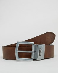 Levi's Reversible Leather Belt Brown