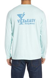 Tommy Bahama Men's 'Vice And Easy' Graphic Long Sleeve T Shirt