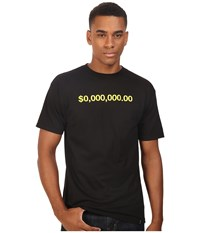 Huf Zero Million Tee Black Men's T Shirt