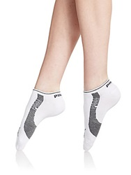 Pumalite Ankle Socks Six Pack White Grey