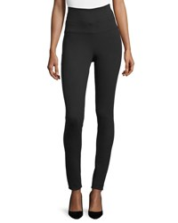 Veronica Beard Harlequin High Rise Ponte Leggings Black