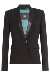 Steffen Schraut Essential Luxury Blazer Black