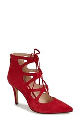 Vince Camuto Women's 'Bodell' Lace Up Pump Love Affair Suede