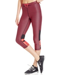Roxy Relay Active Capri Leggings Azalea