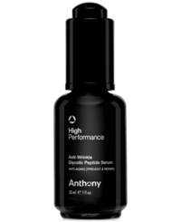 Anthony Logistics For Men Anthony High Performance Anti Wrinkle Glycolic Peptide Serum 1 Oz