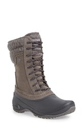 The North Face Women's 'Shellista' Waterproof Mid Boot Kitten Grey Phantom