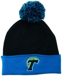 Top Of The World Tulane Green Wave 2 Tone Pom Knit Hat
