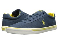 Polo Ralph Lauren Hanford Newport Navy Ripstop Canvas Men's Lace Up Casual Shoes Blue