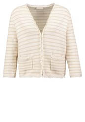 Stefanel Cardigan Offwhite Off White