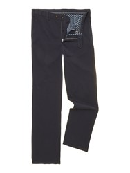 Oscar Jacobson Greg Straight Leg Chino Navy