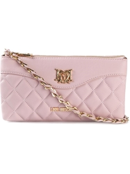 Love Moschino Quilted Cross Body Bag Pink And Purple
