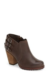 Women's Eastland 'Augustina' Belted Bootie Brown