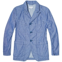 Engineered Garments Bedford Jacket Blue Chambray
