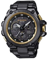 G Shock Men's Black Stainless Steel And Resin Bracelet Watch 66X56mm Mtgg1000gb1a