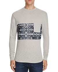 Sovereign Code Gus Graphic Long Sleeve Pocket Tee Grey
