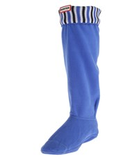 Hunter Original Tall Deck Chair Stripe Boot Sock Nylon Adventure Blue Black White Crew Cut Socks Shoes