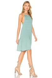 Hoss Intropia Sleeveless Mini Dress Green