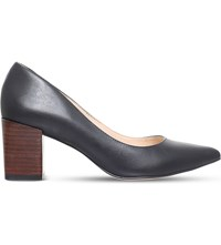 Carvela Allowed Pointed Leather Courts Black