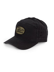 A. Kurtz Warner Cotton Baseball Cap Black