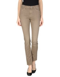 Incotex Denim Pants Khaki